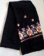 Cotton Embroidered Scarf