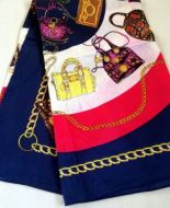 Handbag Print Scarf