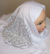 Arabic Print Hijab