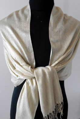 Gold Evening Wrap