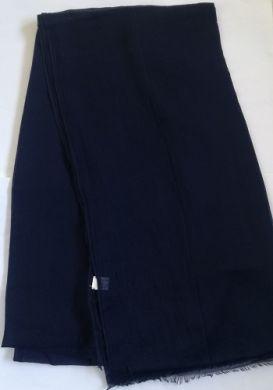 Navy Blue Modal Scarf