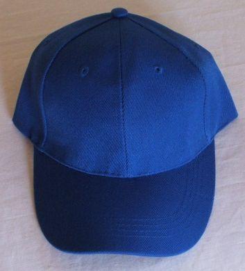 Blue Plain Cap