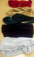 Black Twisted Turban Headband