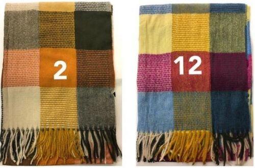 Printed Winter Wool Scarf