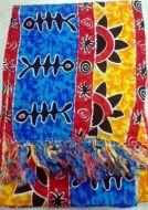African Print Scarf
