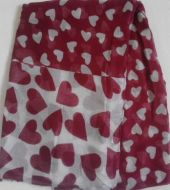 Red Hearts Print