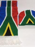 SA Flag Scarf and Beanie