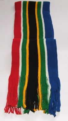 Knitted South African Scarves