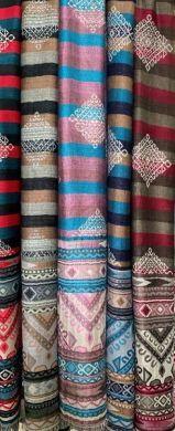 Striped Shawl Wrap