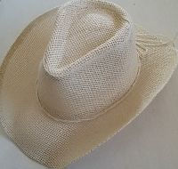 Woven Plain Cowgirl Hat
