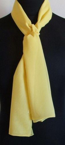 Plain Chiffon Scarves